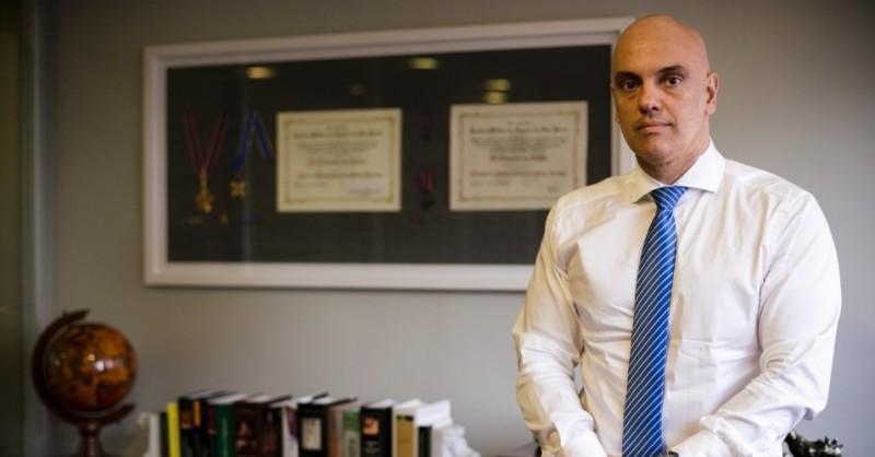 Alexandre de Moraes. Ministro de Justicia del Brasil