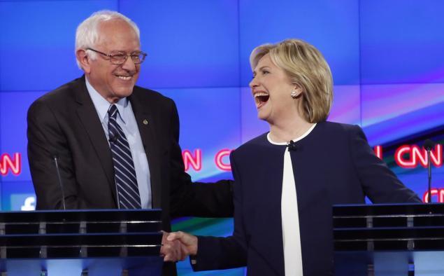Bernie-Sanders-and-Hillary-Clinton