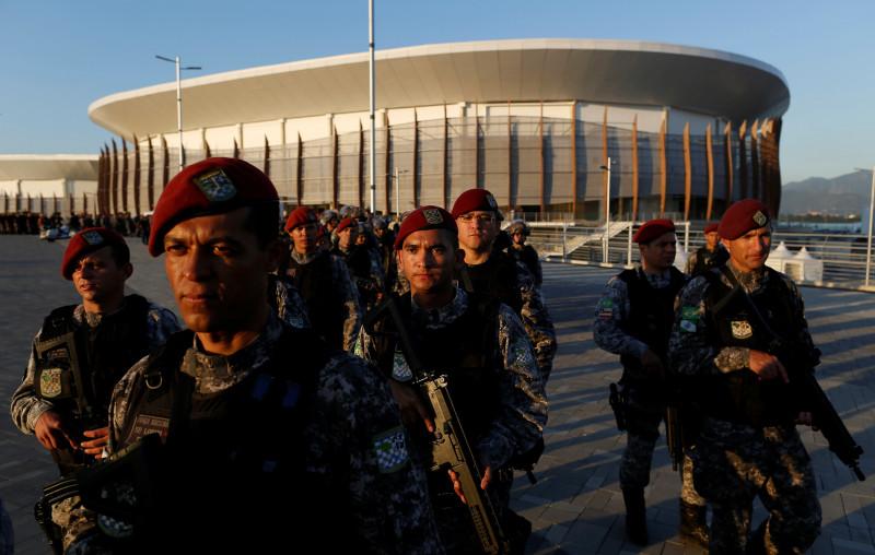 Brasil, seguridad
