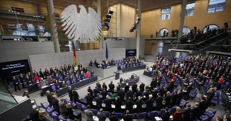 Bundestag Alemán