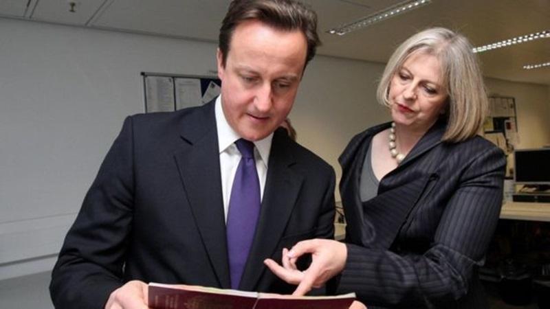 Cameron y May