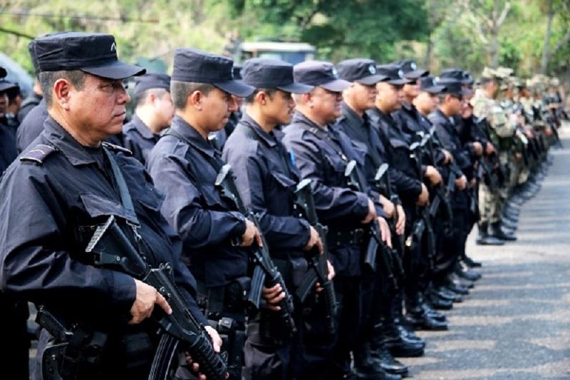 Policía El Salvador