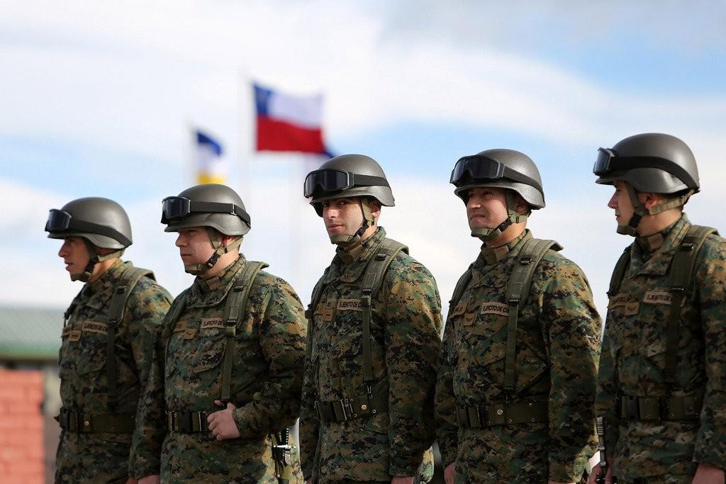 Militares chilenos