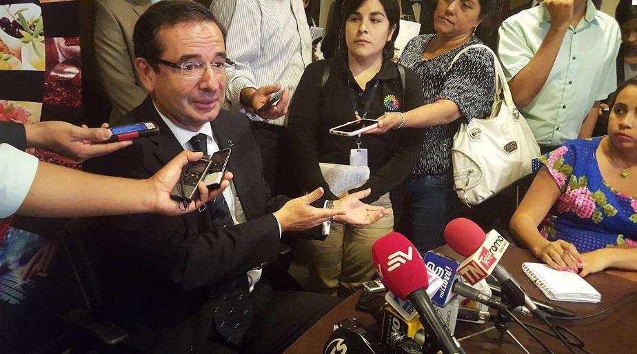 Ministro de Comercio Exterior Ecuador