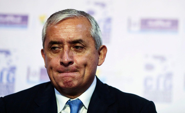 Expresidente Otto Pérez Molina