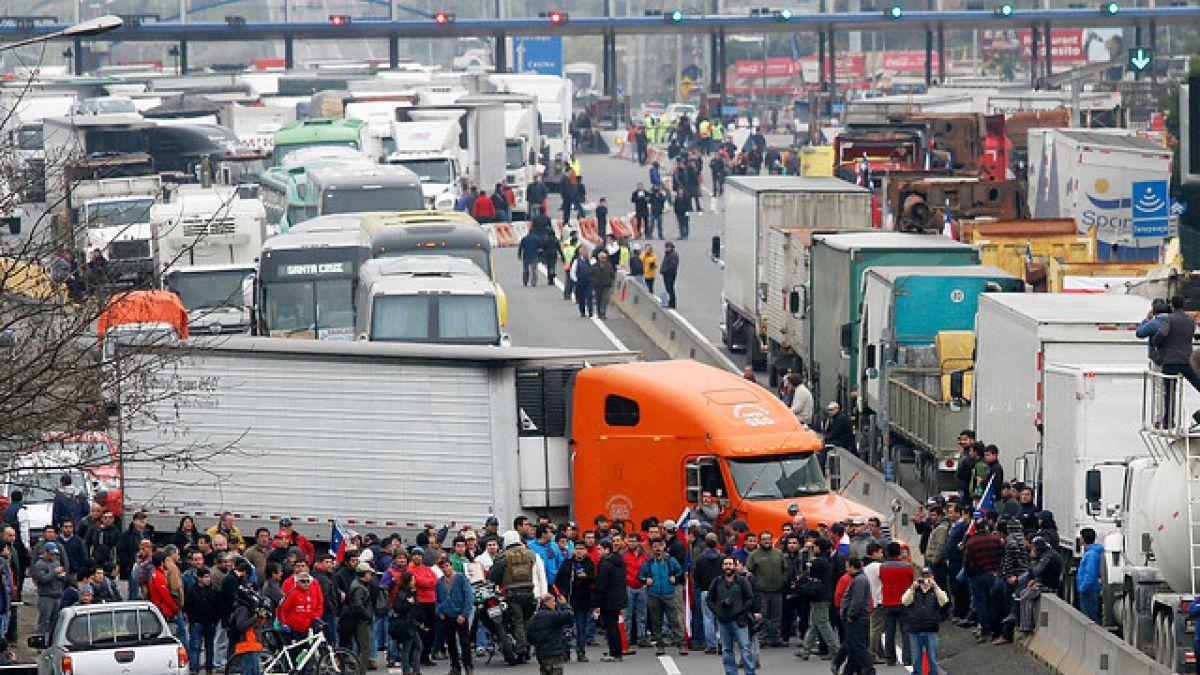 Paro de camioneros colombia