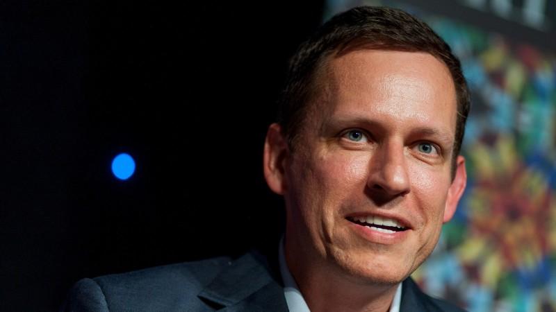 Peter Thiel, billonario del mundo de la tecnología