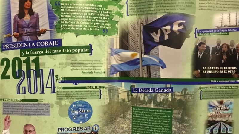 El último gobierno de Cristina.