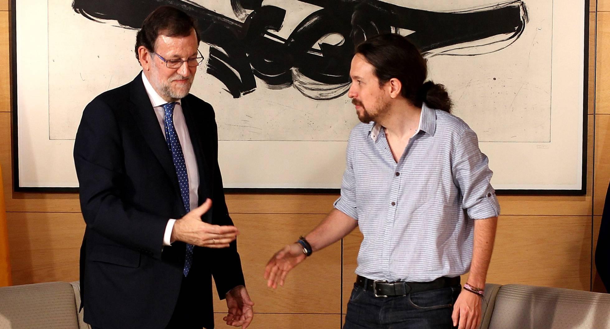 Rajoy e Iglesias