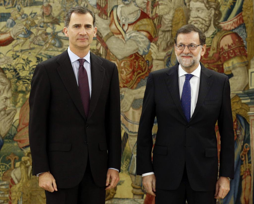 Rey y Mariano Rajoy