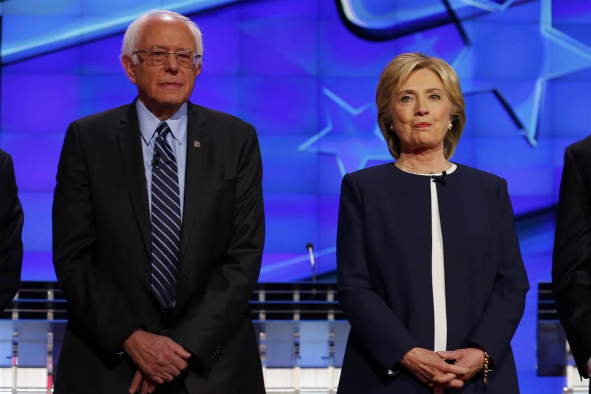 Sander y Clinton