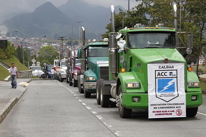 camioneros, colombia
