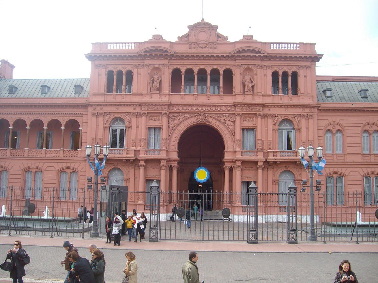 casa rosada, residencia presidencial argentina