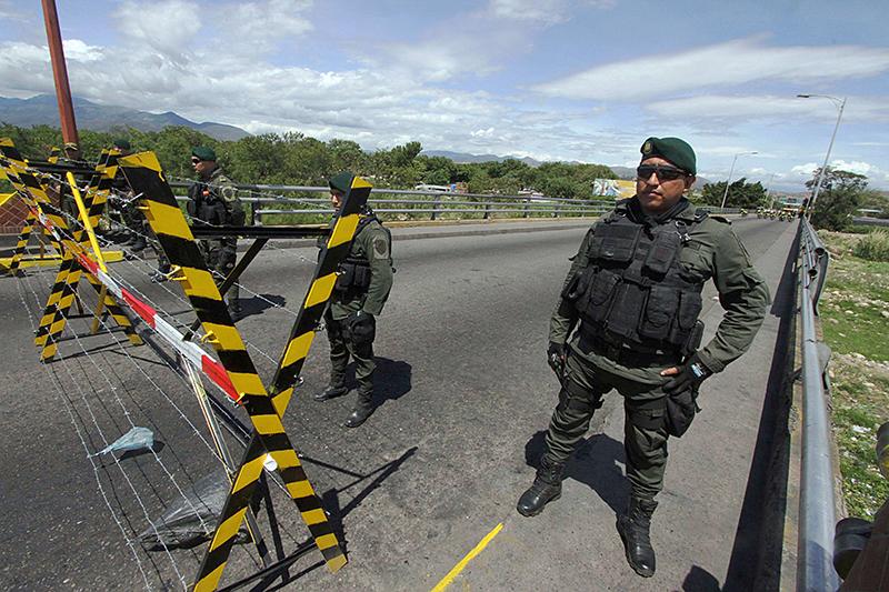 Colombia frontera