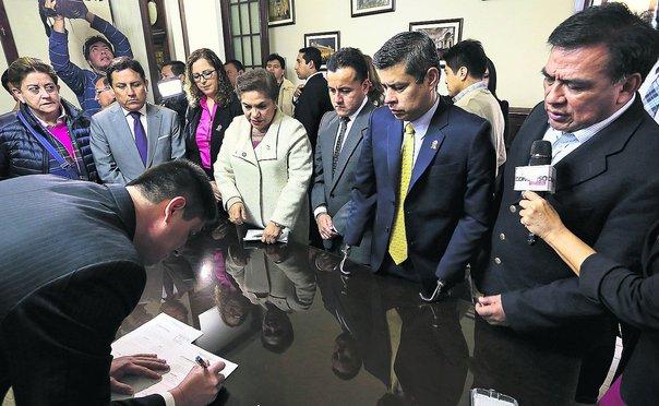 Fuerza Popular se alista para presidir Mesa Directiva del Congreso