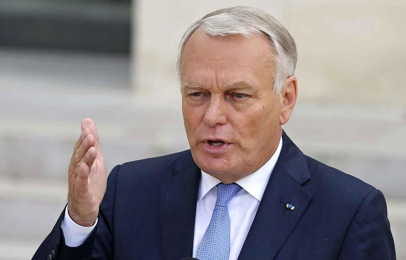 jean-marc-ayrault_cancillerfrancia El ministro francés de Exteriores, Jean-Marc Ayrault