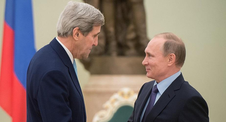 John Kerry Vladimir Putin