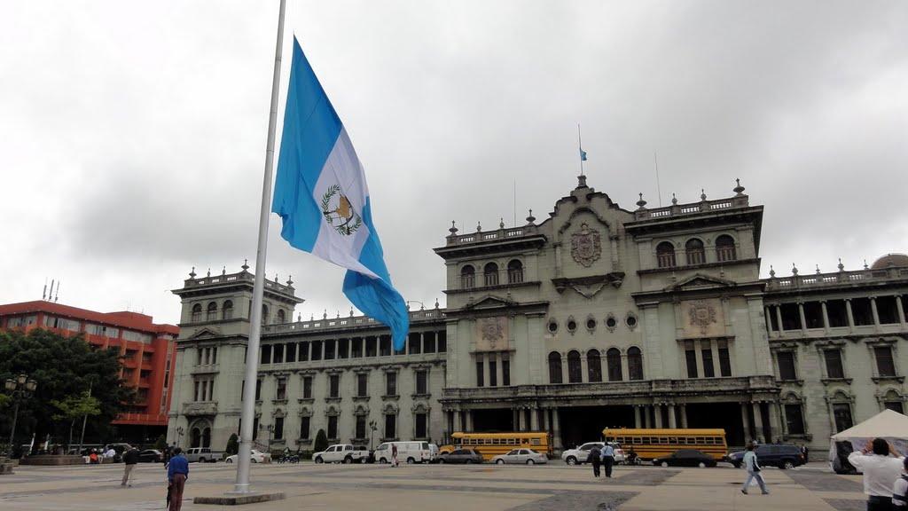 palacio presidencial de Guatemala
