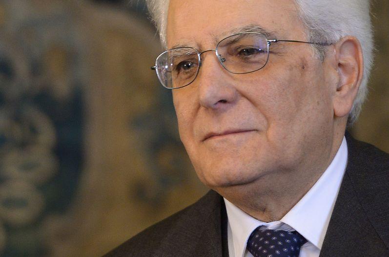 presidente Italia-Sergio Mattarella