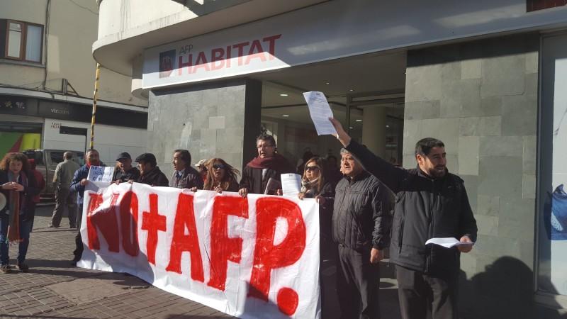 AFP protestas