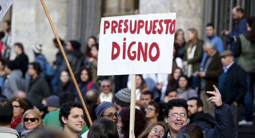 protestas uruguay