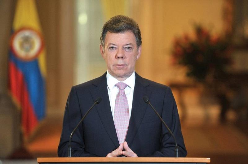 El presidente de Colombia, Juan Manuel Santos  / Foto Prensa Presidencia de la República