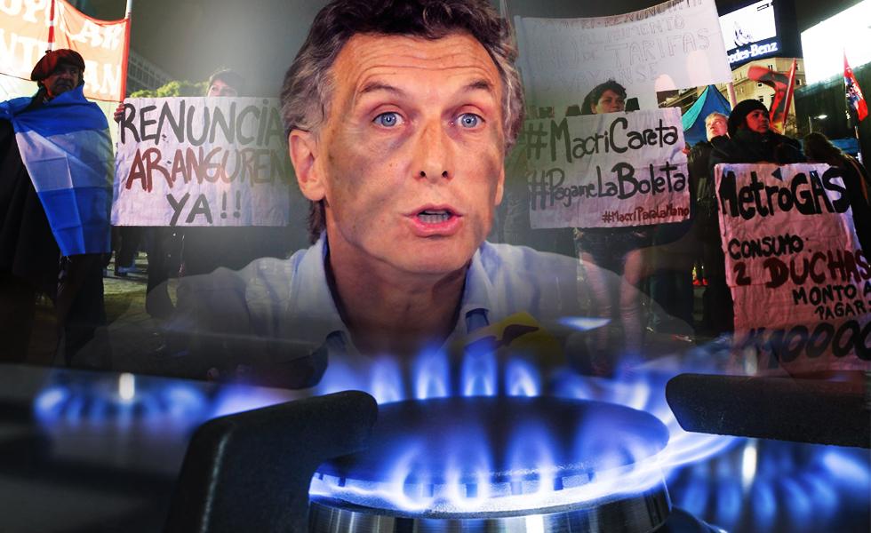Argentinos reacios ante nuevas políticas implantadas por Macri