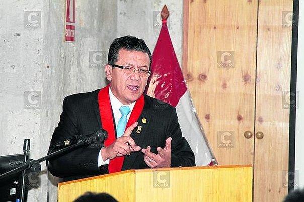 Johnny Cáceres, Presidente de la Corte Superior de Justicia.