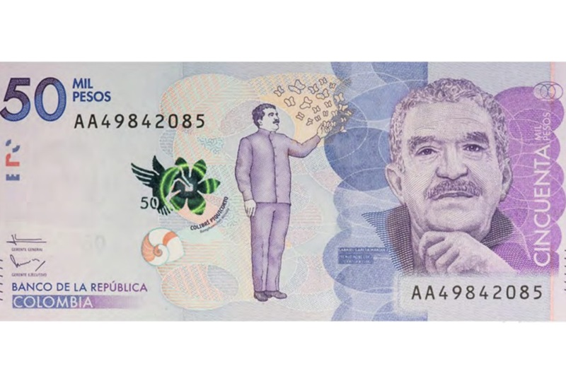 Billete Gabo
