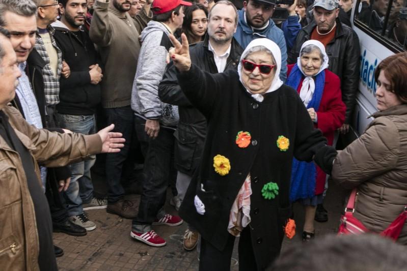 Hebe de Bonafini, presidenta de la Madres de la Plaza de Mayo