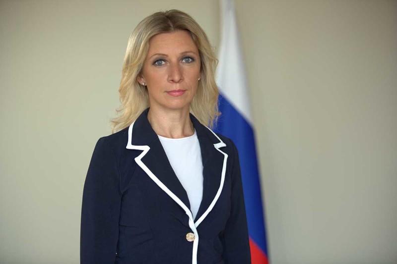 María Zajárova FOTO