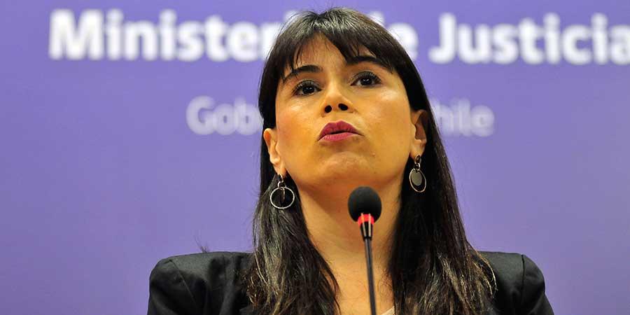 Ministra Javiera Blanco