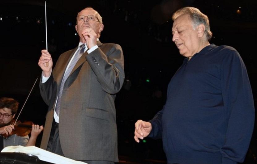 PPK dirigió a la Filarmónica de Israel / Sociedad Filarmonica de Lima