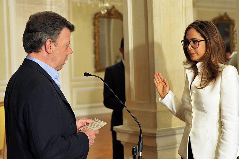 Pardoy, ministra de Colombia