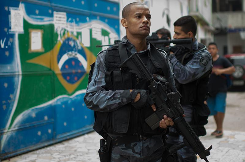 Brasil rio, seguridad