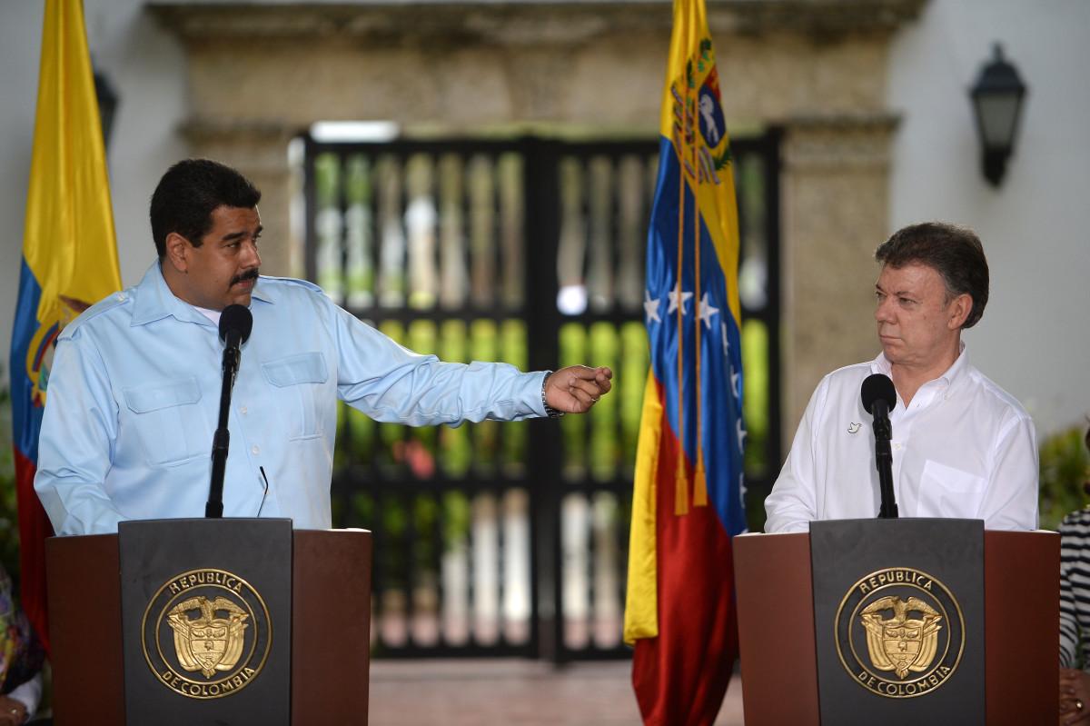 Santos y Maduro 2