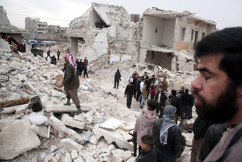 alepo muertos civiles