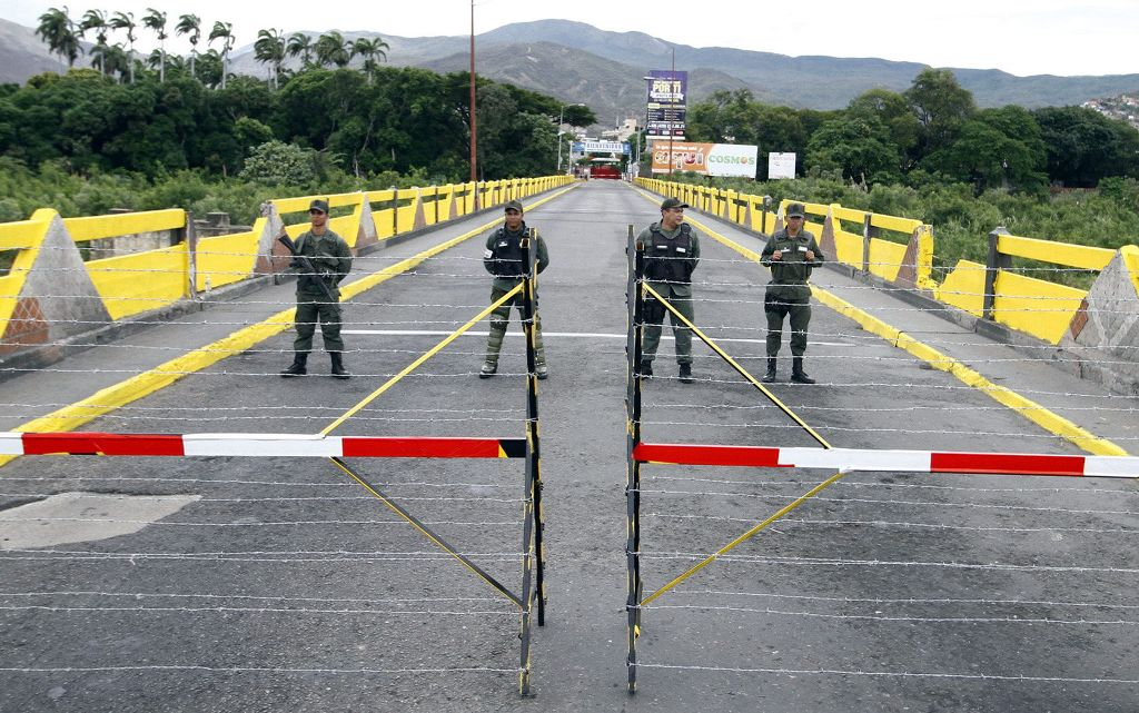contrabando en la frontera