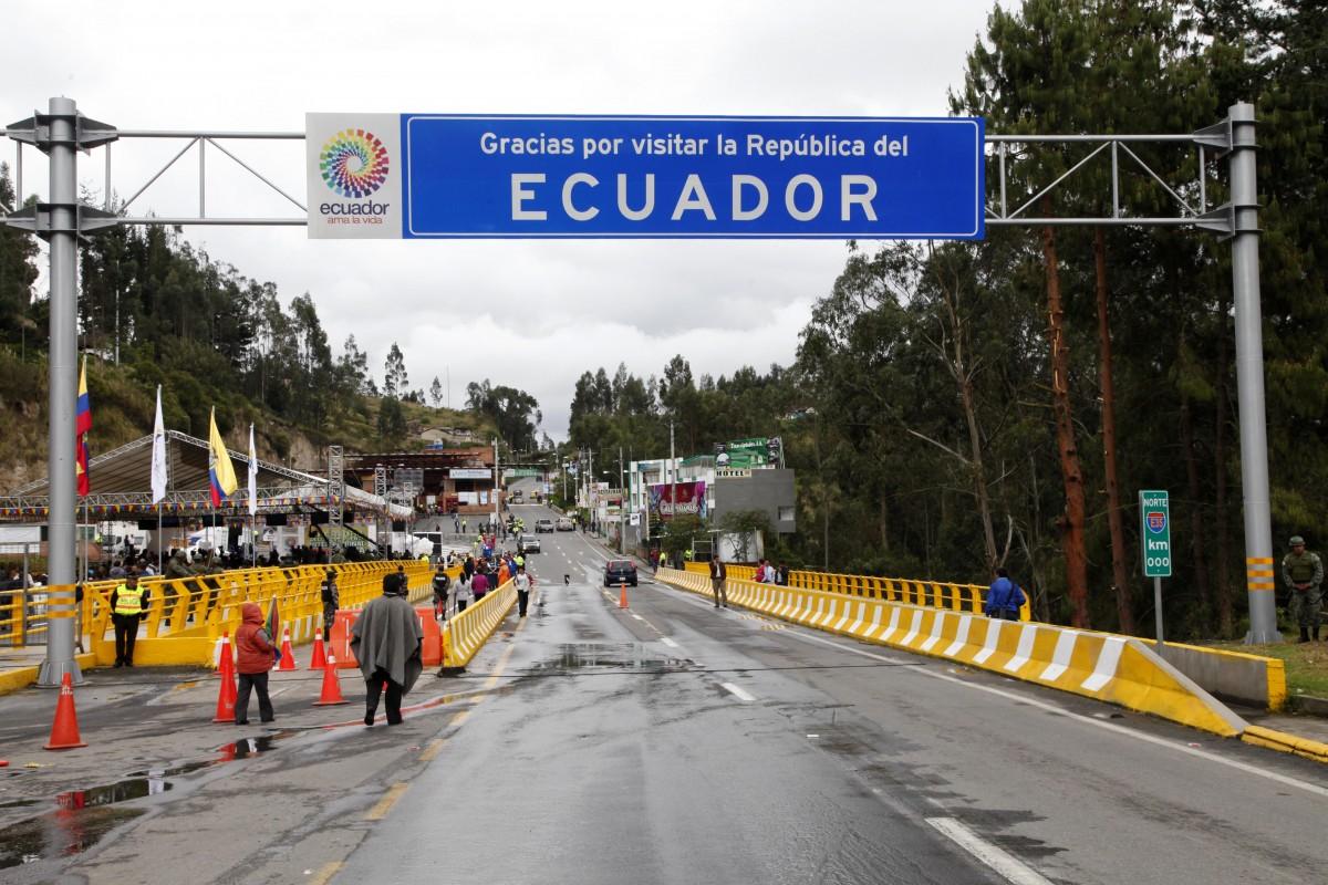 frontera ecuador