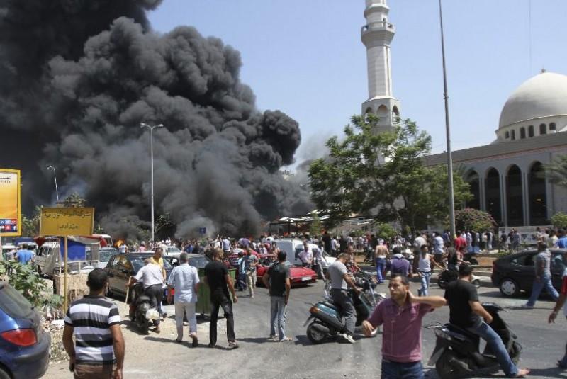 líbano explosion