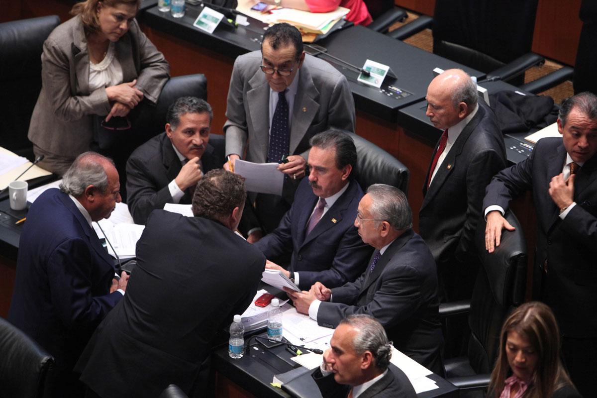 legisladores mexicanos