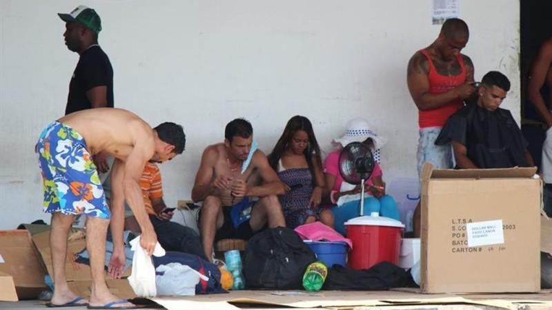 migrantes cubanos en panama