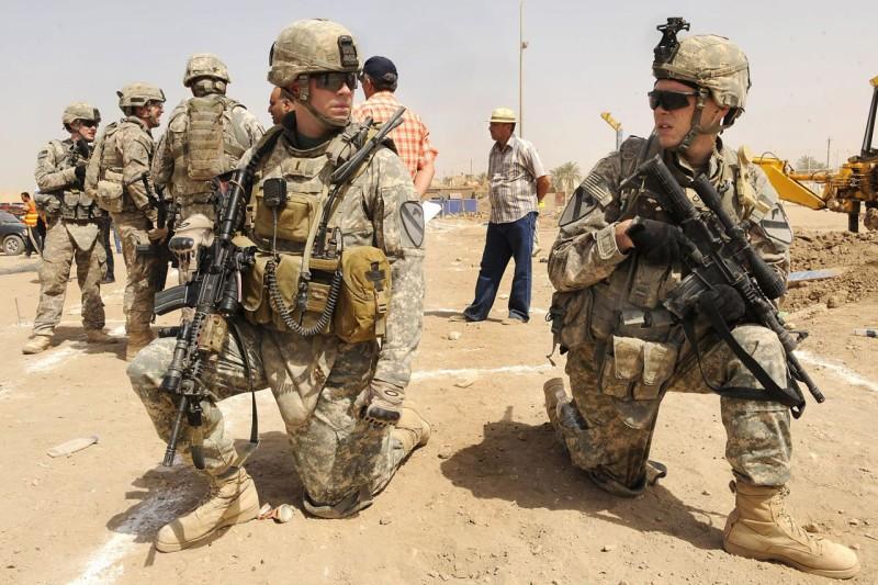 soldados americanos en siria