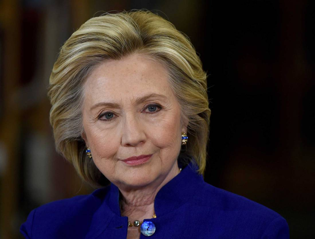 Hillary Clinton Holds Campaign Roundtable In Las Vegas
