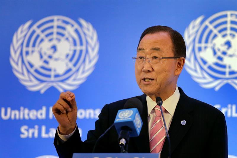 Ban Ki-moon destaca papel de Cuba en proceso de paz colombiano