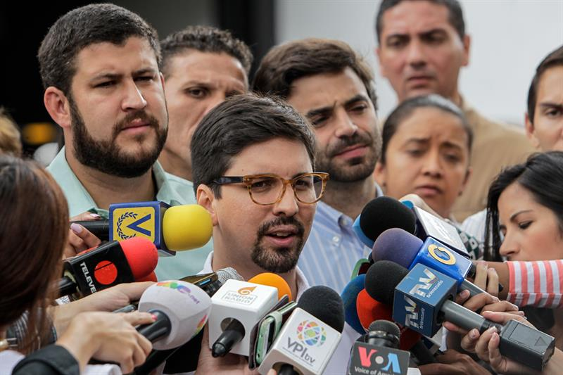 Freddy Guevara / Foto: EFE