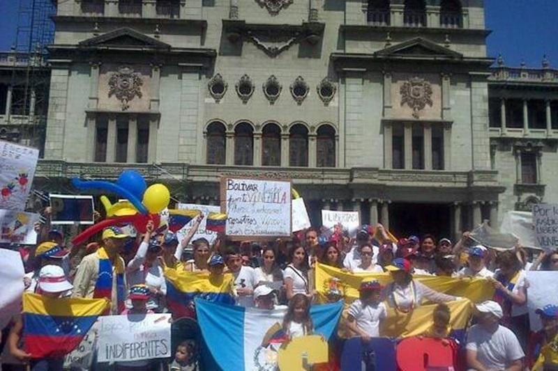 Venezolanos en Guatemala