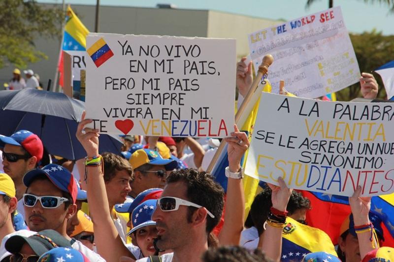 Venezolanos en el mundo