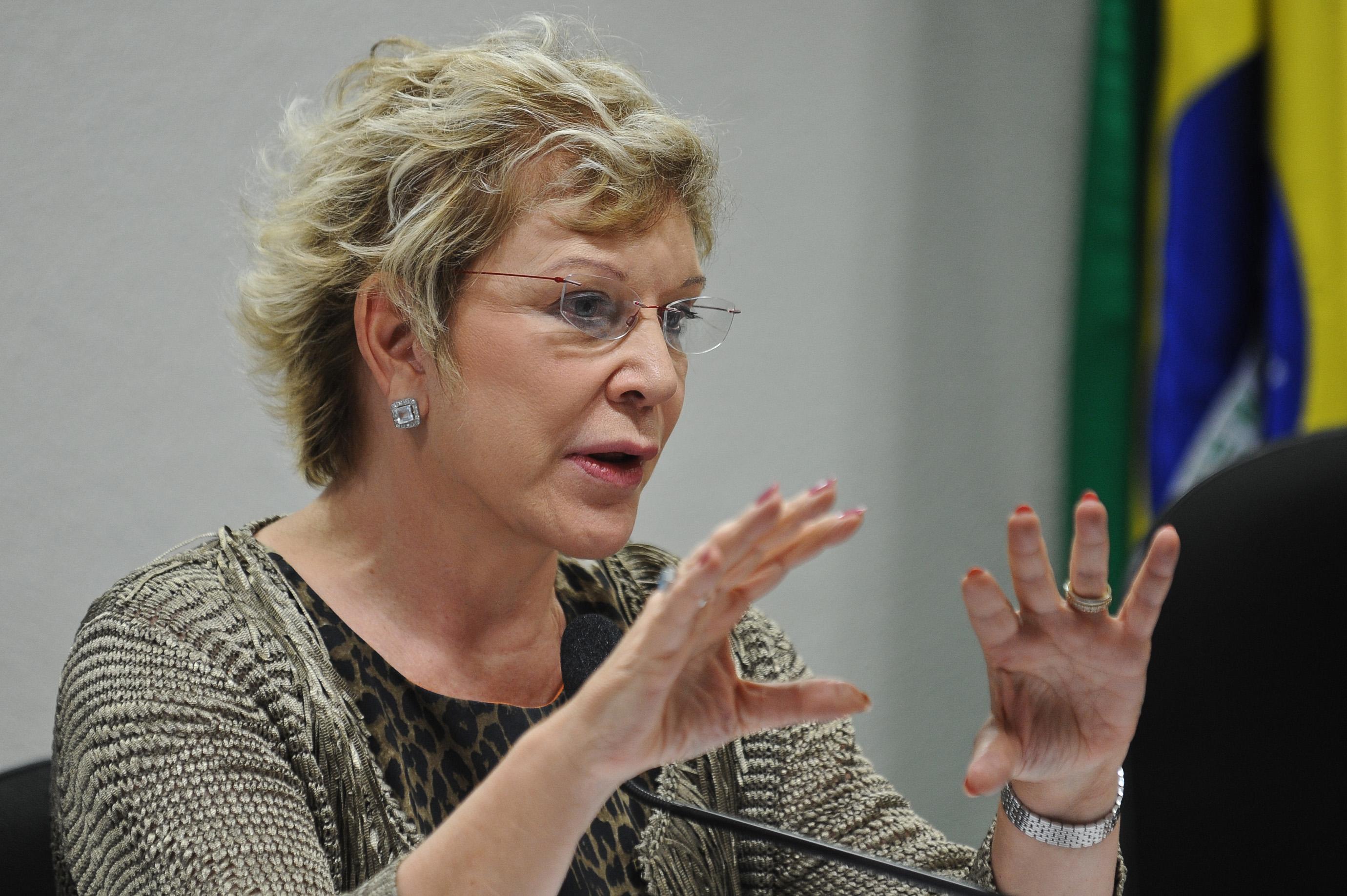 A ministra da Cultura, Marta Suplicy