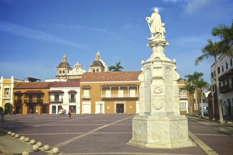 Cartagena Plaza la Paz